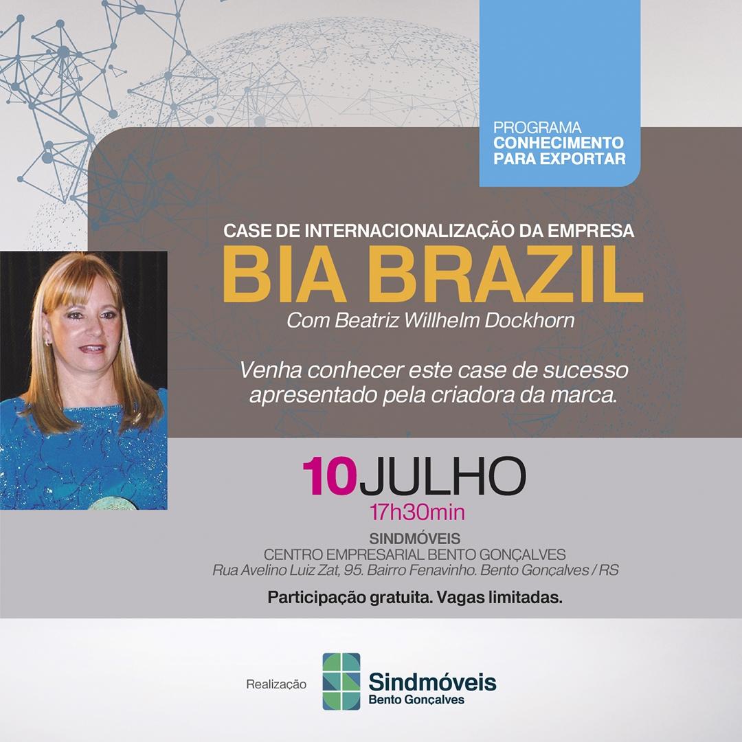 Bia Brazil Case de internacionalização da empresa