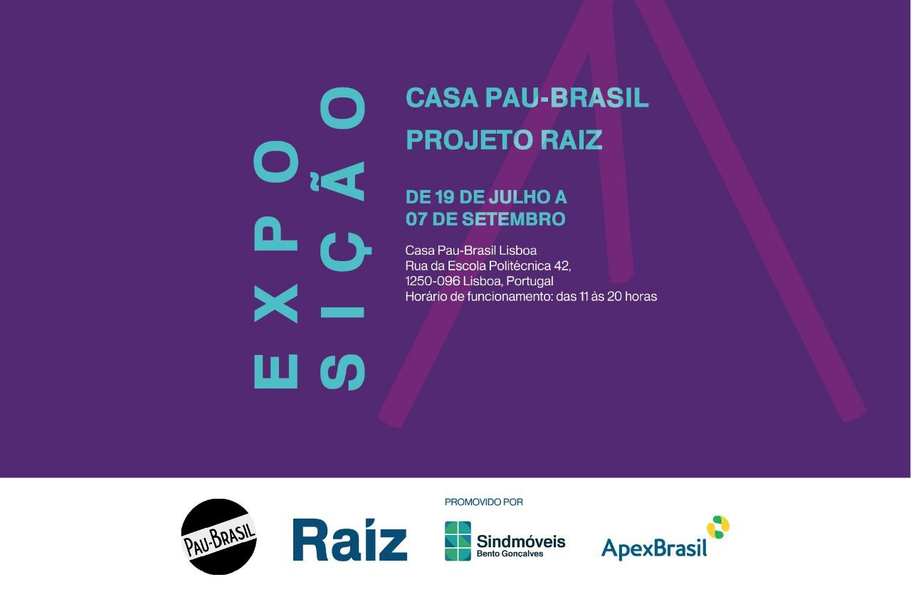 Exposição Casa Pau-Brasil Projeto Raiz